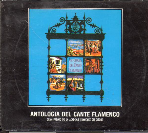 Portada de la Antología del Cante Flamenco