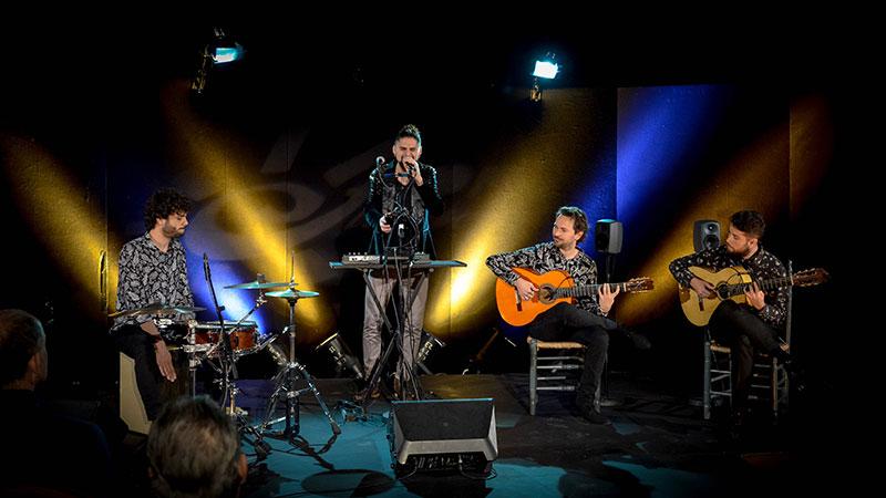 Concierto de El Mati en el programa Foro Flamenco de Canal Sur